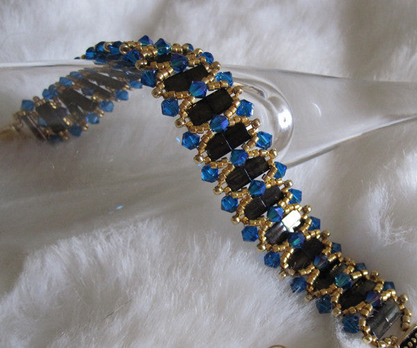 Queen Victoria Bracelet Kit Blues