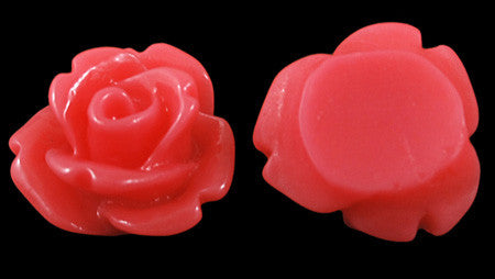 Rose Cabochon 10mm Qty: 2