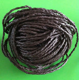BOLO 4mm Leather Cord - Black & Brown