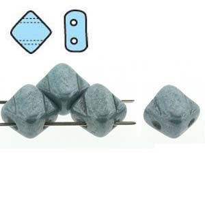 Silky Beads - Chalk Blue Lustre - Qty: 1 Strand