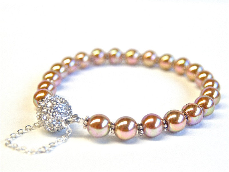 Simple Elegance Bracelet Kit - Pearl - Colour Choice