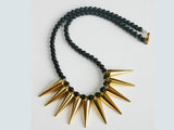 Gold Spikey Necklace Kit