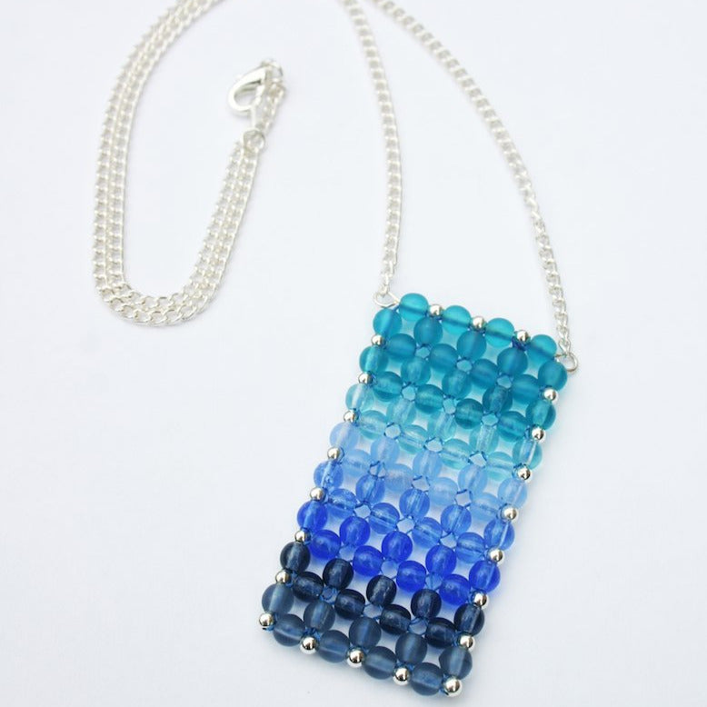 Summer Blues Pendant Necklace Kit