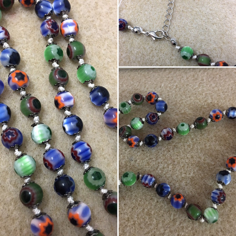 Chevron Knotted Necklace Kit