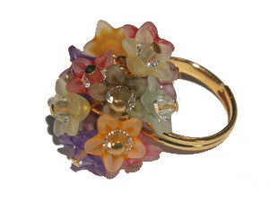 Autumn Bouquet Ring w. Gold Qty: 1 Kit