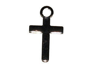 Gold Cross Charm Qty: 100