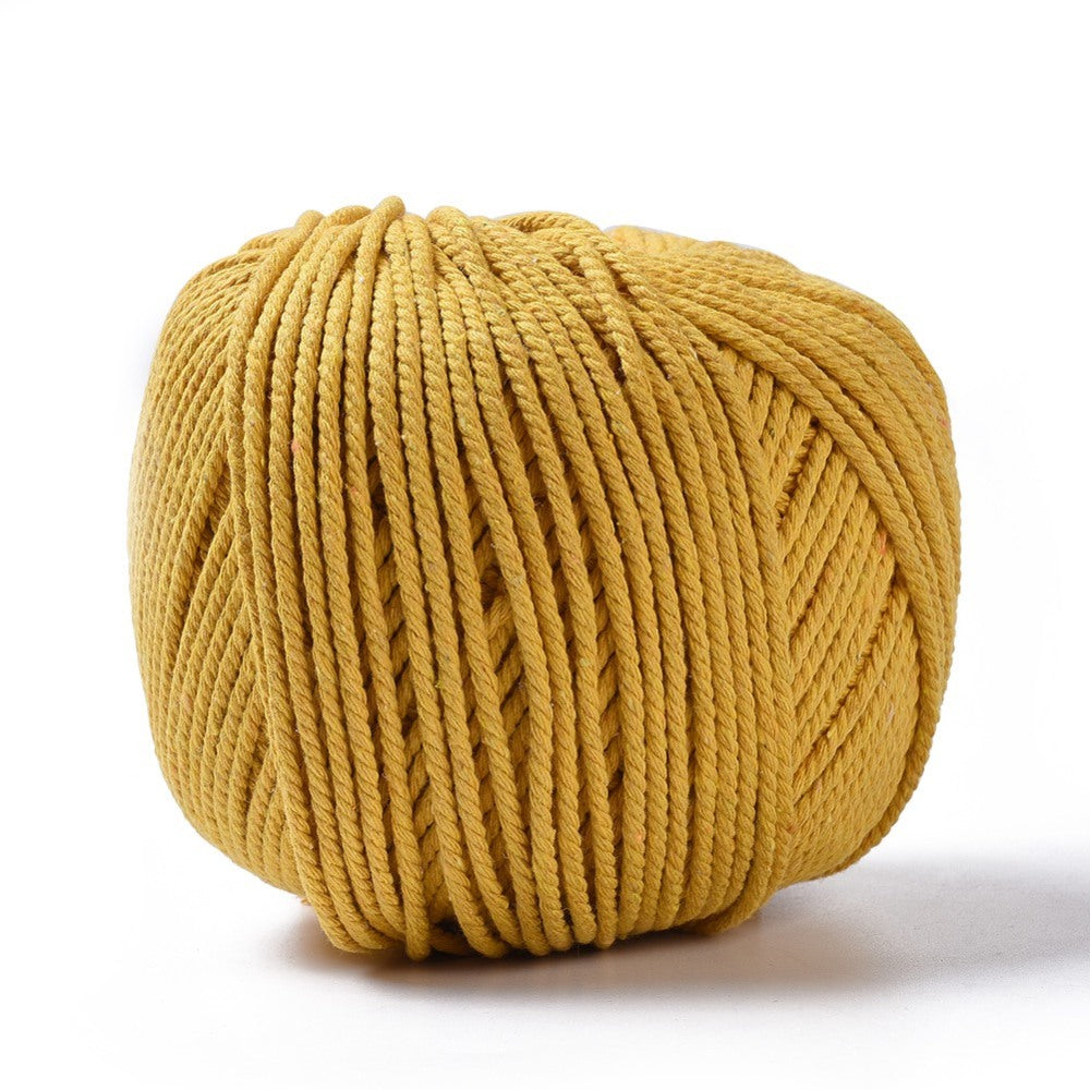 3mm & 4mm Natural Cotton Macrame Rope - 8 COLOURS!