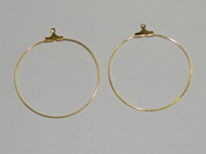 30mm Ear Hoop Qty: 20