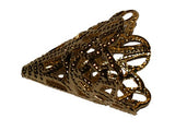 Filigree Bead Cone 22mm Qty: 1