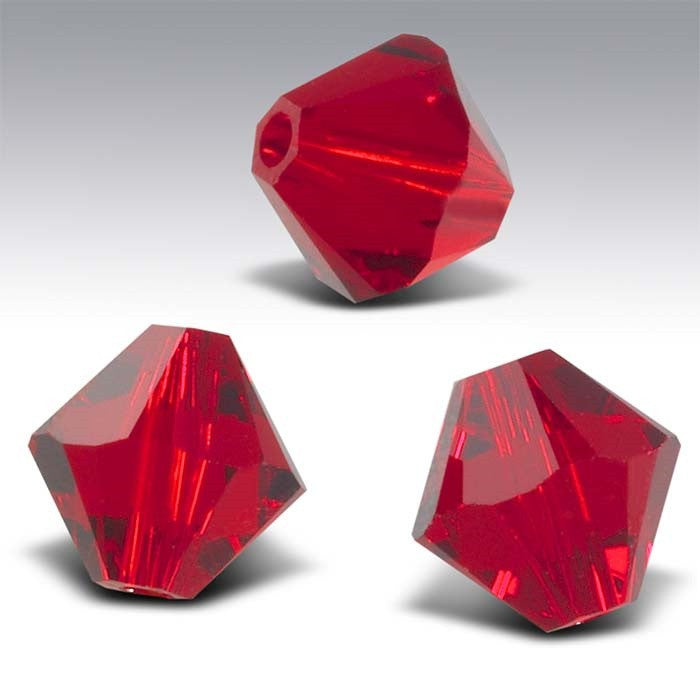 6mm Bicone Swarovski Crystal Beads (10 beads)