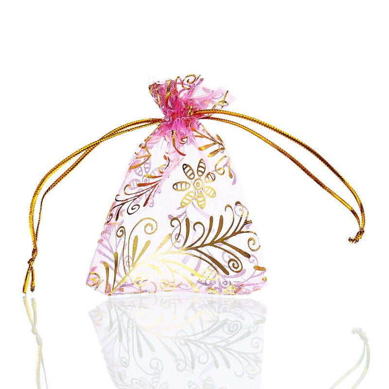 Organza Gift Bags - 9x7cm - Pack of 10