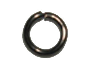 8 x 1.4 mm Steel Jumprings Qty: 50