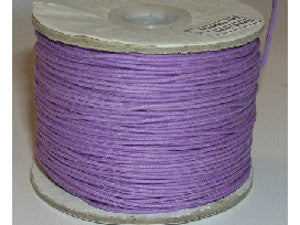 .5mm or .7mm Wax Cotton Cord - colour choice available