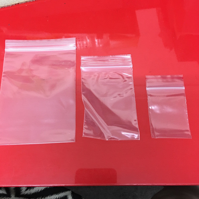 Ziplock Bag (thick) - 3 sizes available