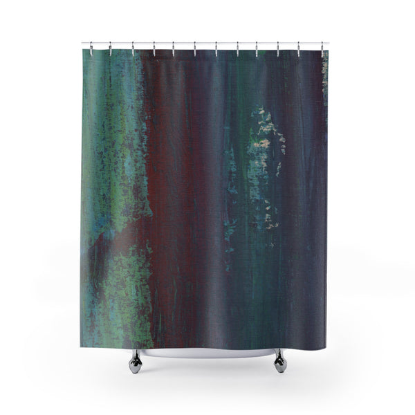 Dark Shower Curtain
