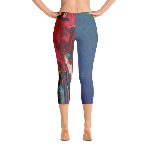 Asymmetrical Capri Leggings