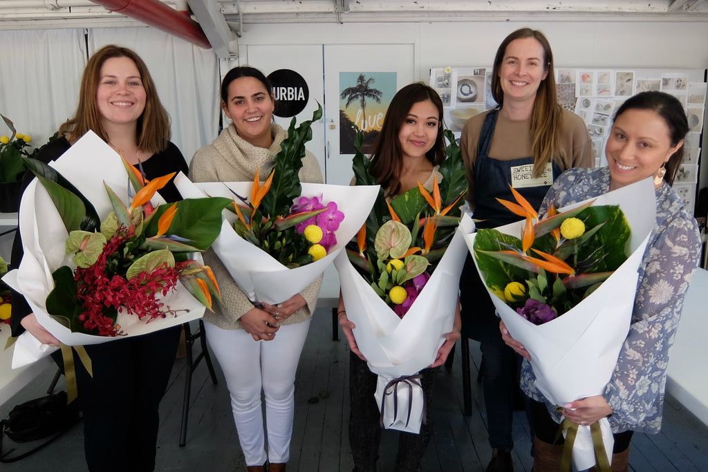 Tropical Flower Arranging Workshop