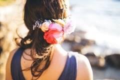 Floral hairpiece for Bridesmaid