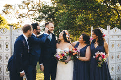 Bridal party at Athol Hall wedding ceremony Sydney