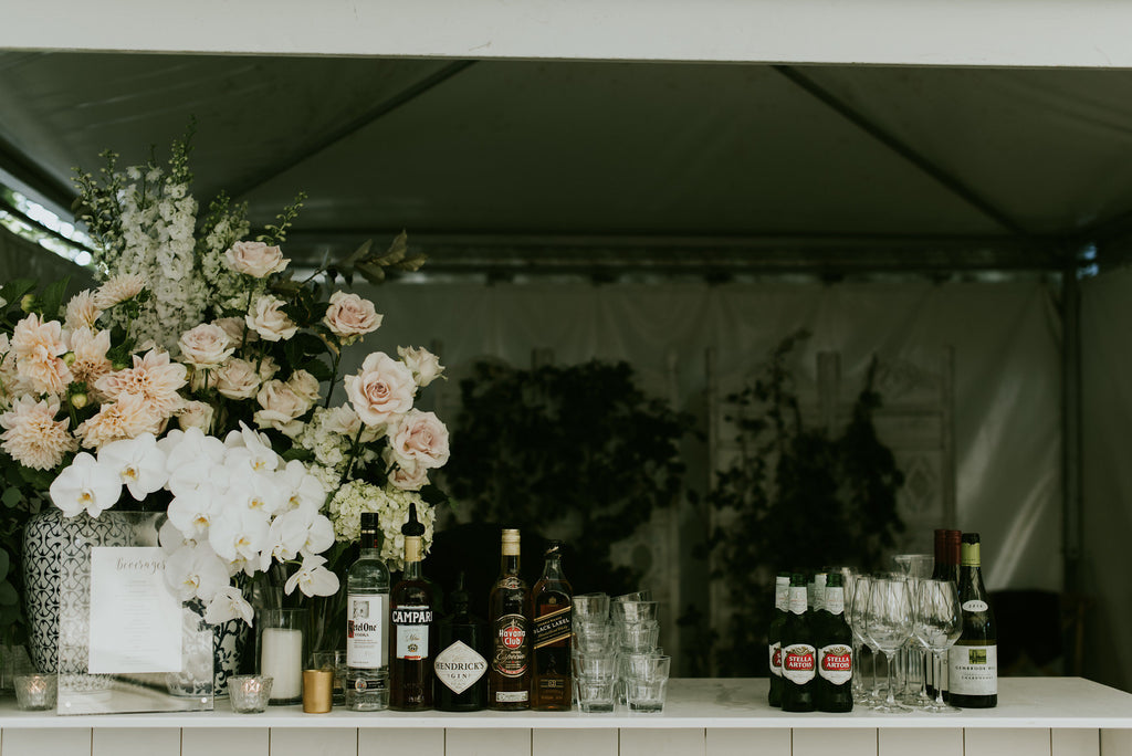 Bar florals in pastels