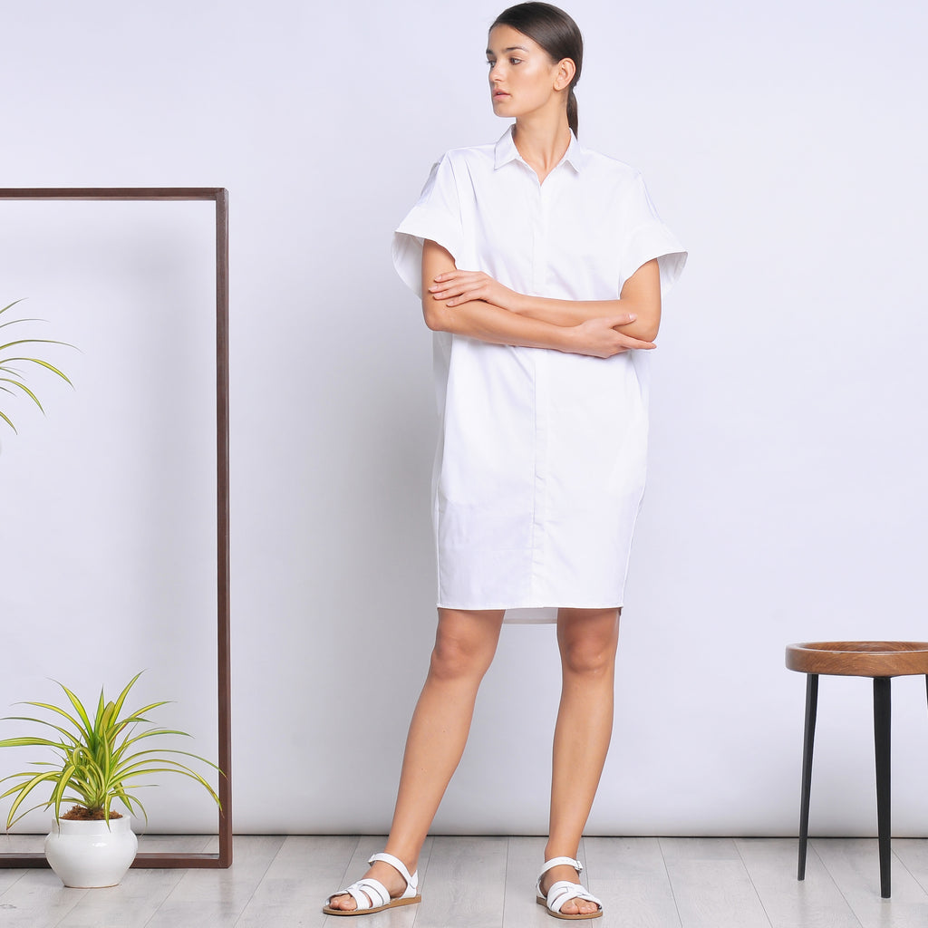 Margie shirt dress