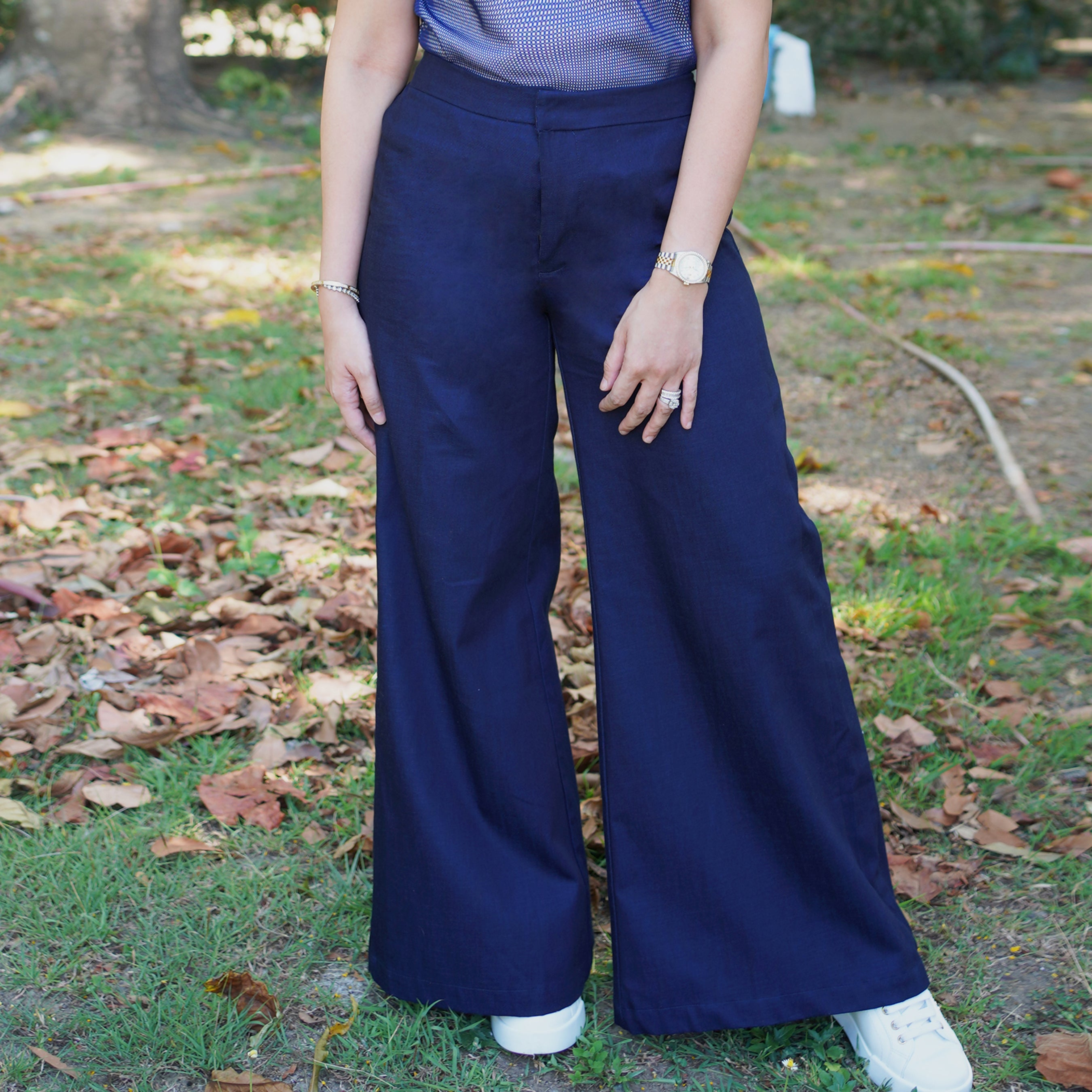 Celine denim wide leg