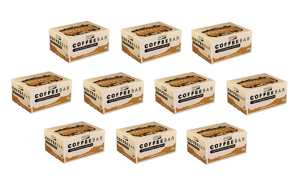 Caramel Macchiato Eat Your Coffee Bar Wholesale Case (10 Boxes / 120 Bars)