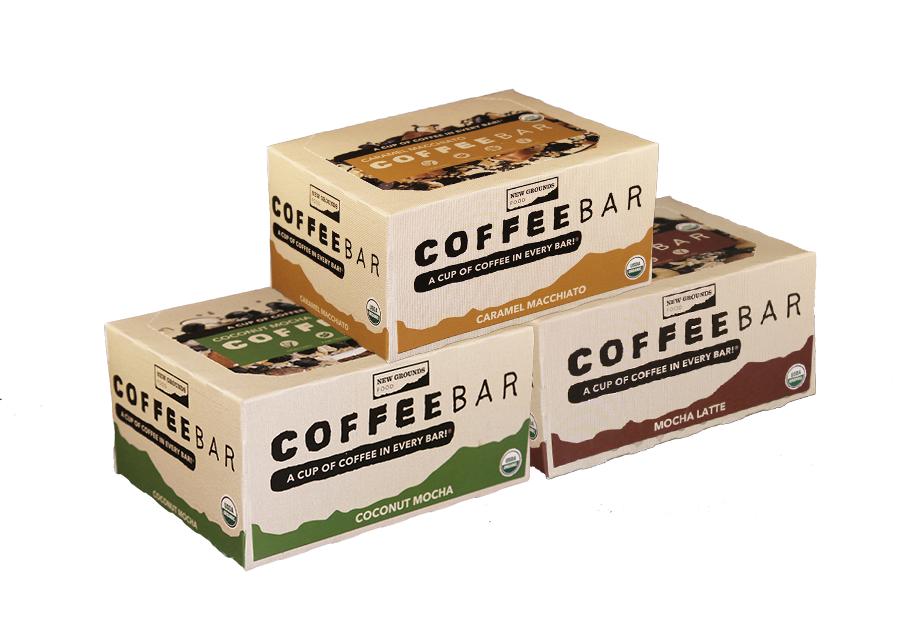 Mixed Eat Your Coffee Bar, Office Sampler Pack (72 Bars)