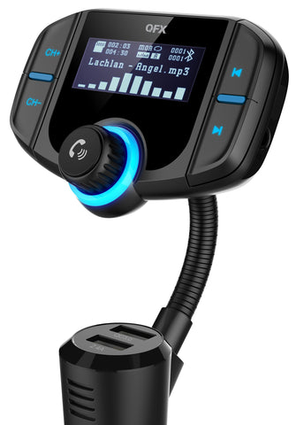 QFX FMT-12 BLUETOOTH CAR FM TRANSMITTER