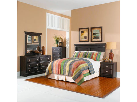 Standard Furniture 50401 Carlsbad 5pc Queen/Full Bedroom Set