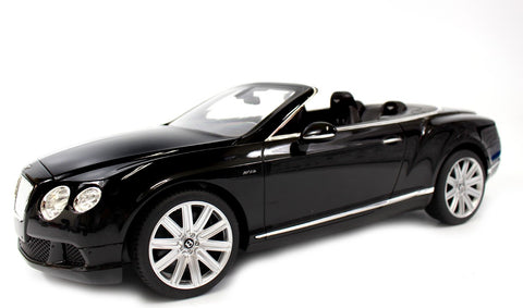 1:12 BENTLEY CONTINENTAL GT SPEED CONVERTIBLE (BLACK)BGTCB