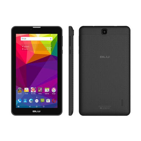 "BLU P270L M7 TOUCHBOOK 7"" CELL PHONE TABLET ANDROID 5.1/INTEL ATOM X3/1.2GHZ - BLACK"