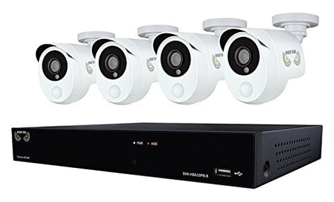 NIGHT OWL 1080 P WIRED CAMERA SYSTEM 1TB HARD  DRIVE
