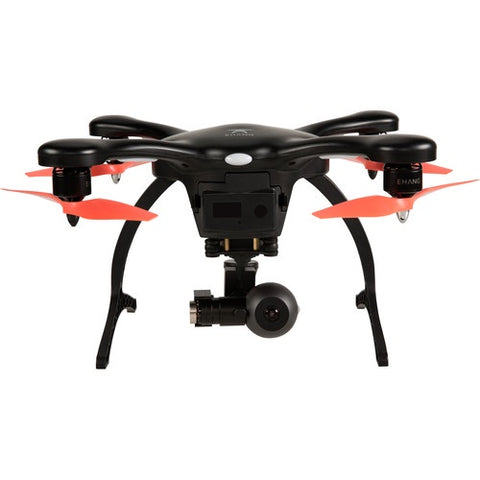 EHANG GVRS2S0BFC GHOSTDRONE 2.0 VR 2.0 AERIAL INC 4K SPORTS CAMERA - BLACK/ORANGE