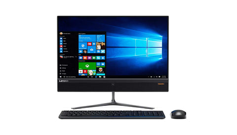 "Lenovo 510-22ISH ALL-IN-ONE Pentium® G4400T 2.9GHz 500GB 4GB 21.5"" (1920x1080) DVD-RW BT WIN10 Webcam Keyboard Mouse BLACK"