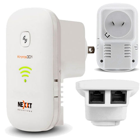 Nexxt Kronos301 Wireless-N Wall Universal Repeater AP