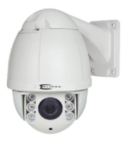 Eclipse ECL-HDA10 1080P 10X Zoom AHD / TVI Mini IR High Speed Dome Security Camera