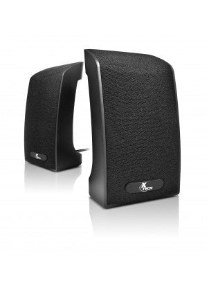 XTECH XTS-120 WIRED USB 2.0 SPEAKERS - 4 WATTS