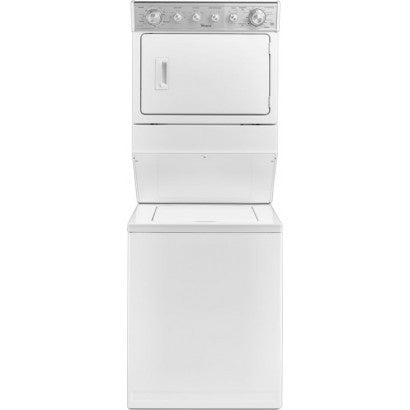 Whirlpool wet4027ew 2.3 cu.ft Electric Stacked Laundry Center 8 Wash