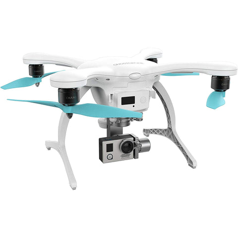 EHANG GVRS2A0WFC GHOSTDRONE 2.0 VR 2.0 AERIAL INC 4K SPORTS CAMERA - WHITE/BLUE