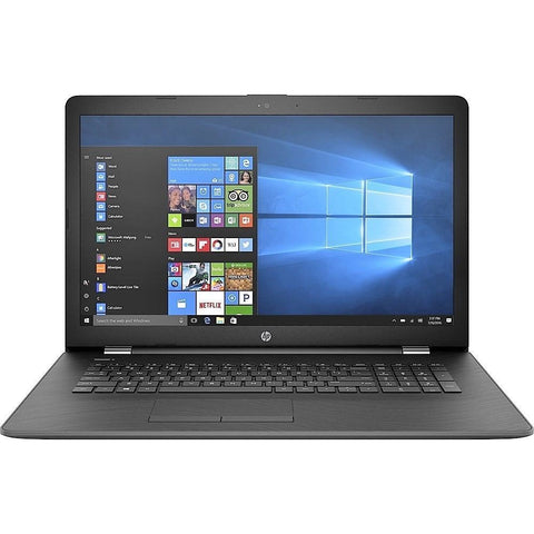 "HP 17Z-AK000 AMD Dual-Core A9-9420 3.0GHz 128GB SSD 8GB 17.3"" (1600x900) DVD-RW BT WIN10 Webcam 2GB VIDEO SMOKE GRAY"