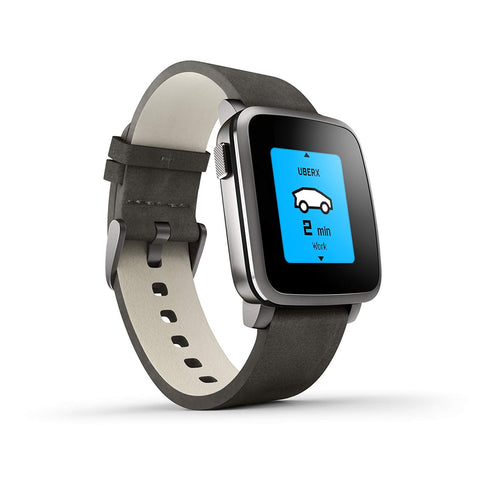 Pebble Time Smartwatch for Android and iPhone - Activity Watch and Sleep Tracker