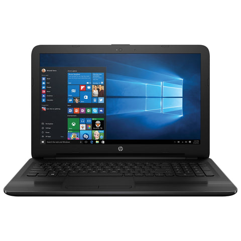 "HP 15-ay010ca Laptop PC Intel Intel Celeron N3060 Dual Core (2 Core) - 4 DDR3L-1600 - 500 HDD - SSD - Intel HD Graphics Integrated - 15.6 1366 x 768 15.6"" diagonal HD SVA BrightView WLED-backlit (1366 x 768) - Windows 10"