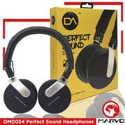 MARVO DM0054BK BLUETOOTH STEREO HEADPHONES
