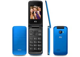 RIU RI-FLIP-BLU FLIP 2.4 DUAL SIM UNLOCKED GSM CELL PHONE W/ FM RADIO VGA FLASH CAMERA - BLUE