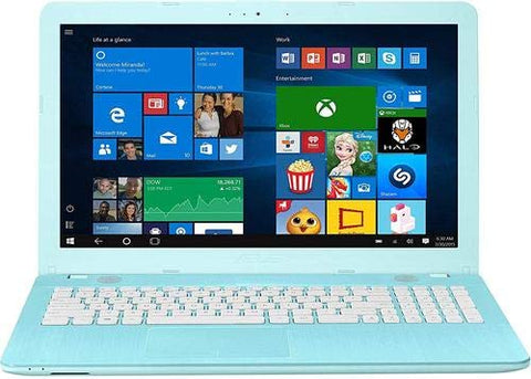 "Asus R541NA-RS01TQ-BL Laptop Intel Celeron Quad-Core N3450 1.1 GHz Processor 1TB 8 GB 15.6"" (1366X768) Touchscreen DVD-RW BT Win10 Webcam - Blue"