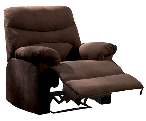 Acme Furniture Arcadia 00635 Recliner Chocolate Color