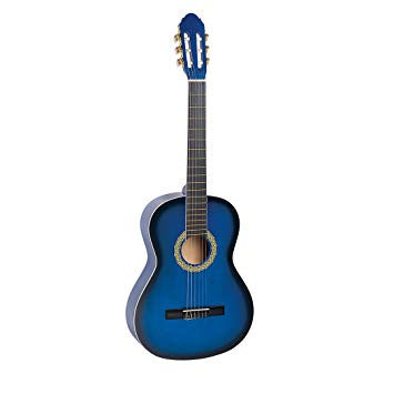 "Toledo ACG-3910BL 39"" Acoustic Guitar with Bag - Blue"