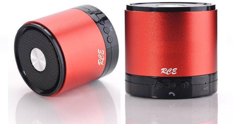 QFX RCE BT11 (Red) Wireless Mini Bluetooth Speakers 85 W Bluetooth Speaker  (Red, 2.0 Channel)