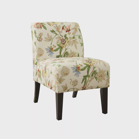 ACME 59504 OLLANO FLORAL FABRIC ACCENT CHAIR